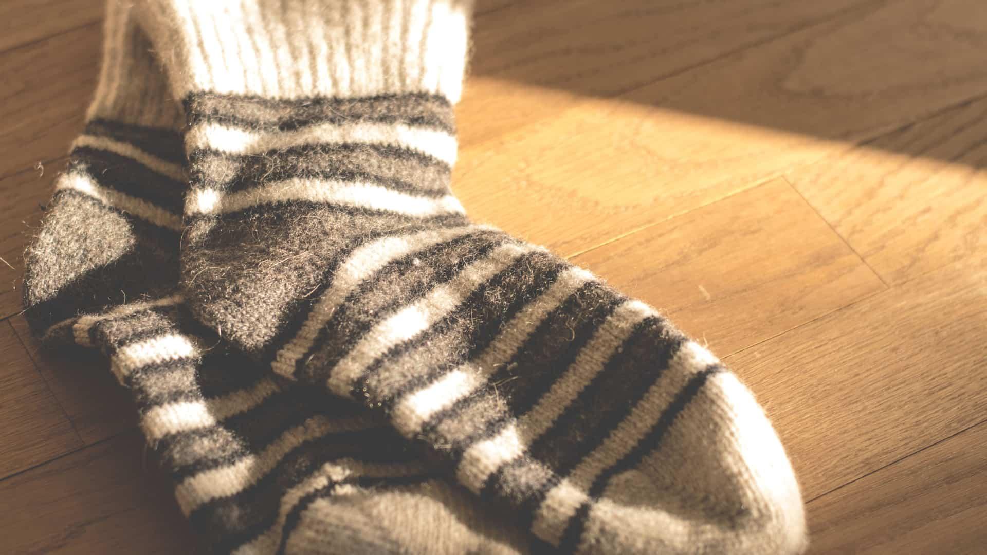 Et par lune sokker