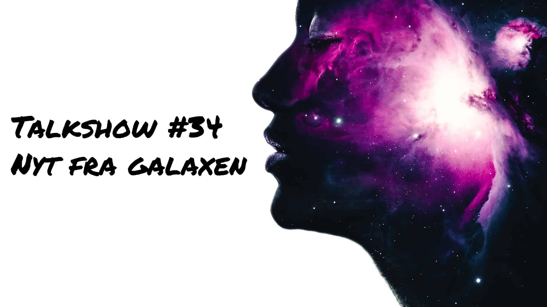 Et ansigt med Galaxen