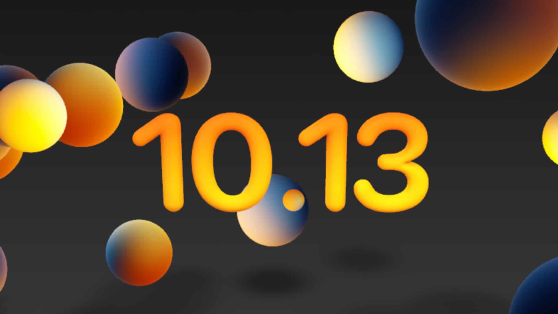 Apples tema billede til 10.13 Keynote